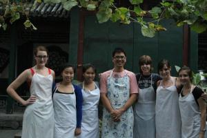 the group and our teacher!